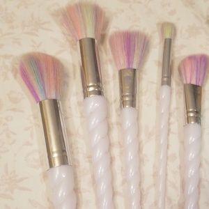 Makeup - Make Up Brushes Unicorn Mermaid Glitter